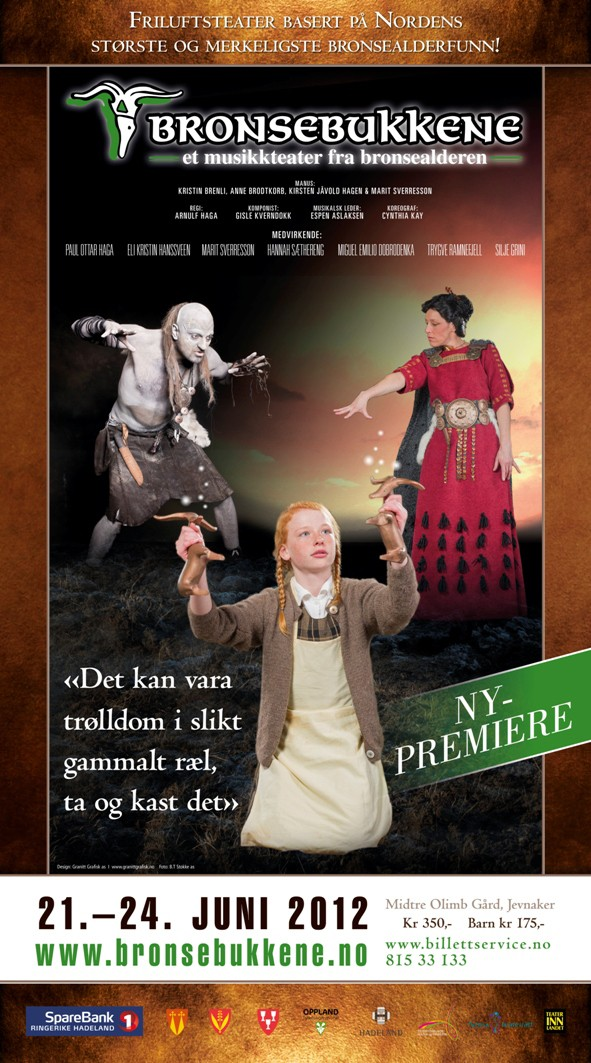 A poster for the 2012 edition of the Bronze Bucks theatre play