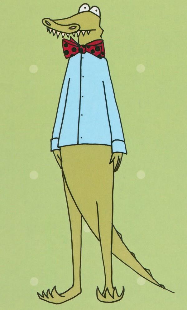An illustration of Johannes Jensen by Torill Kove
